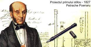Cine a inventat stiloul - Stiloul lui Petrache Poenaru