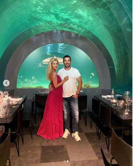 au luat masa intr-un restaurant subacvatic
