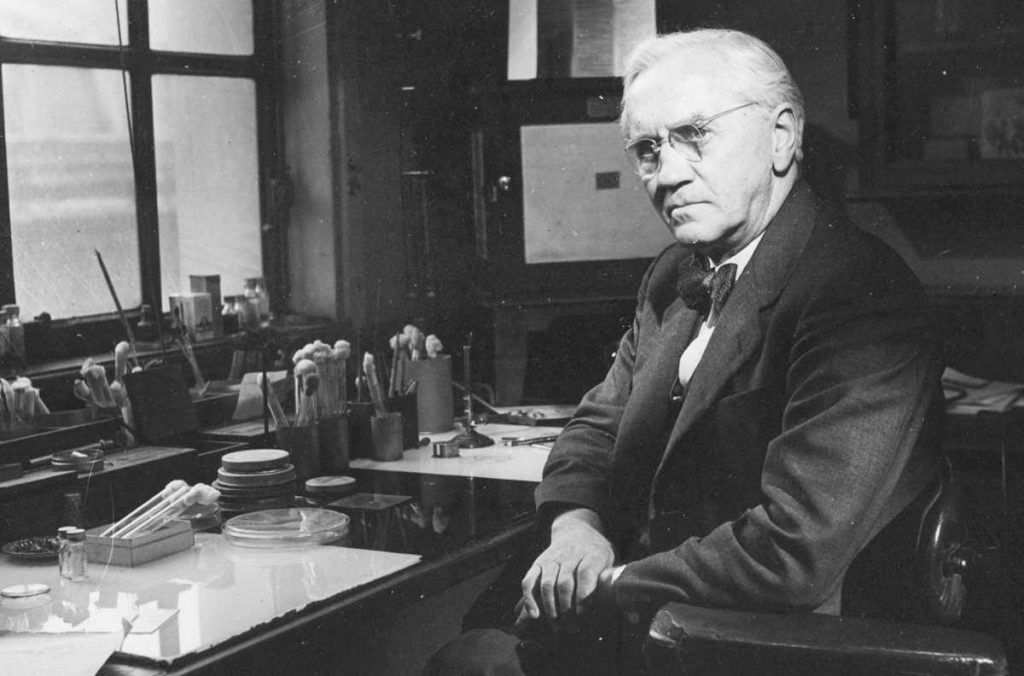 Cine a inventat penicilina - Alexander Fleming