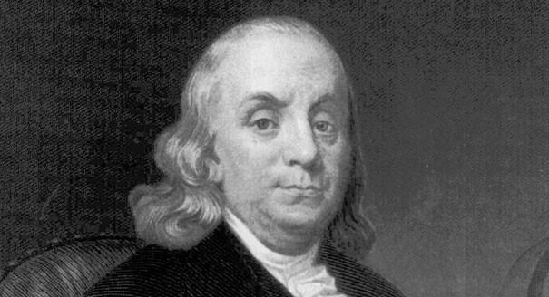 Cine a inventat paratrasnetul - Benjamin Franklin