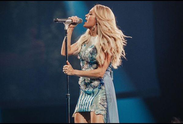 Carrie Underwood are 1,61 de metri