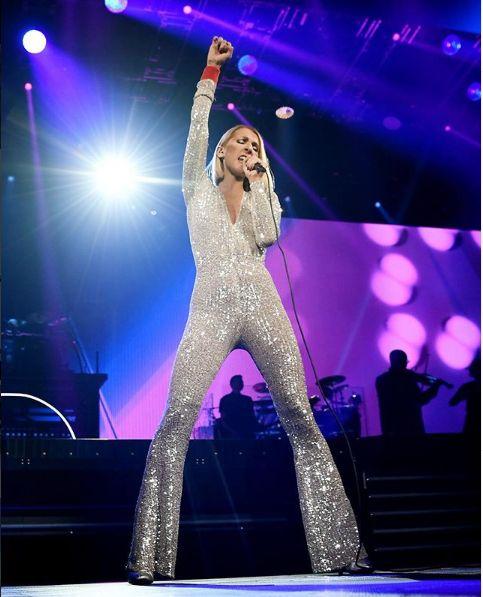 Celine Dion are 1,70 metri