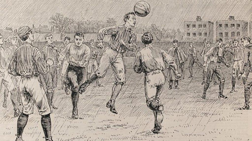 Cine a inventat fotbalul - Fotbalul in Anglia