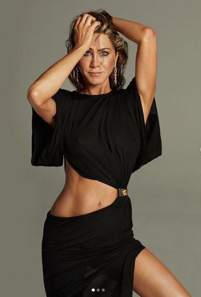 Jennifer Aniston, 1,65 de metri