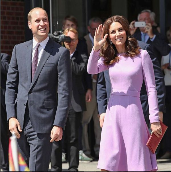 Kate Middleton are 1,75 metri, printul William, 1,90 metri