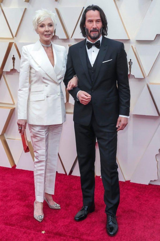 Keanu Reeves si mama sa
