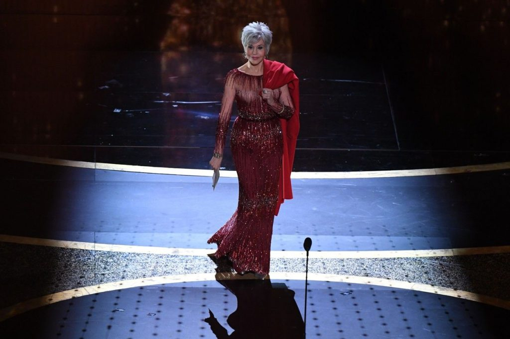 La Oscaruri a aratat ca o regina