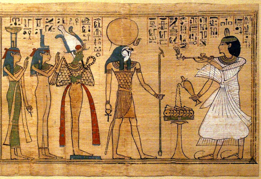 Cine a inventat hartia - Papirus egiptean