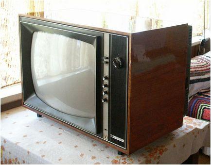 Cine a inventat televizorul - Primul televizor în România