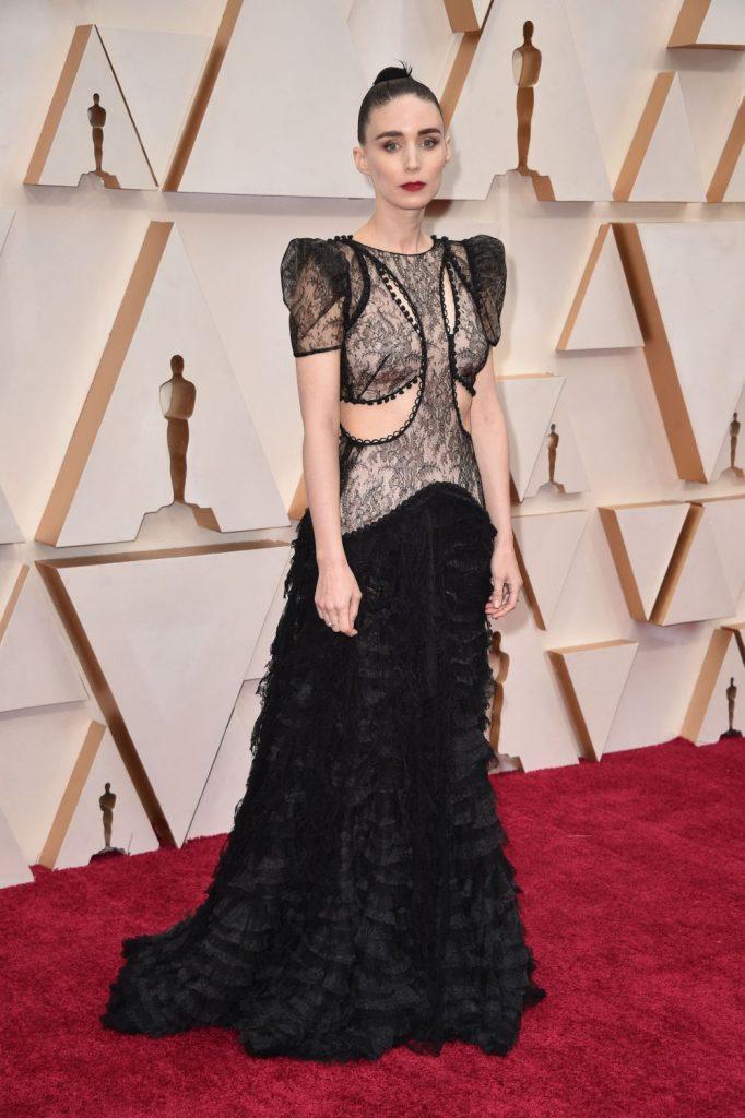 Rooney Mara, o aparitie bizara