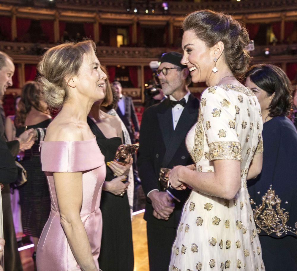Renee Zellweger si Kate Middleton