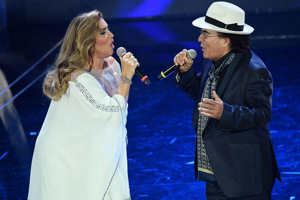 Imagini rare cu Al Bano și Romina Power, la festivalul de la Sanremo. Artistul era să cadă pe scenă