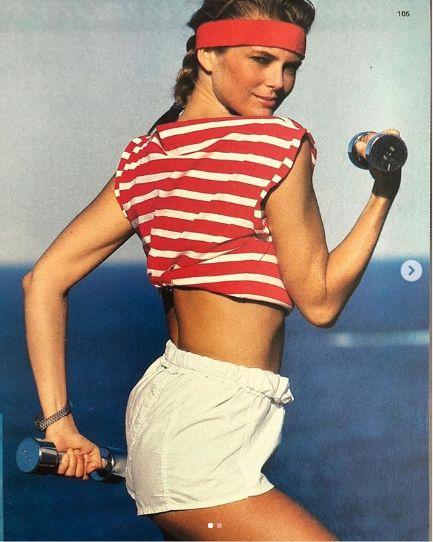 modelul a facut intotdeauna sport