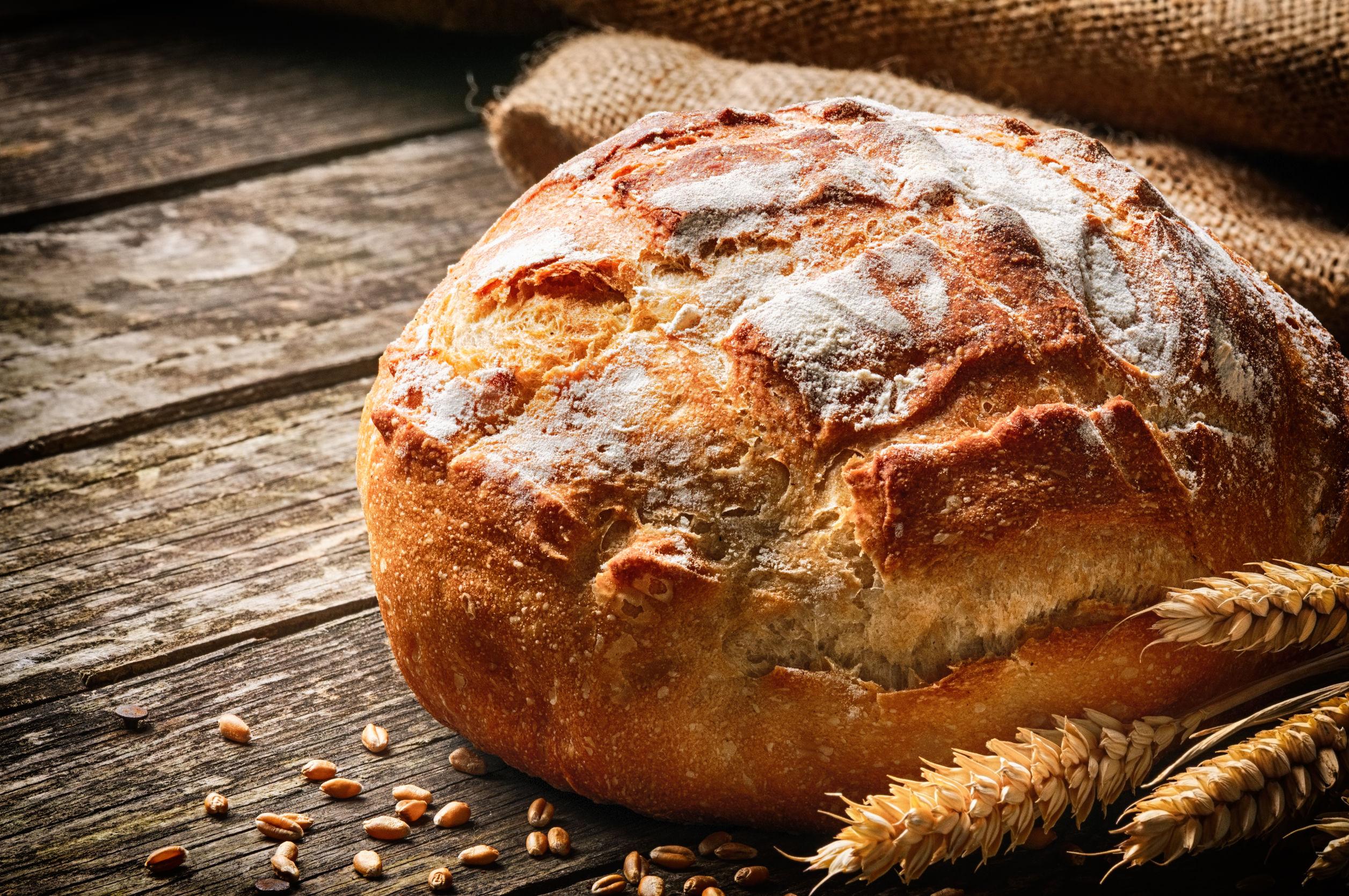 Pâine de casă cu maia naturală