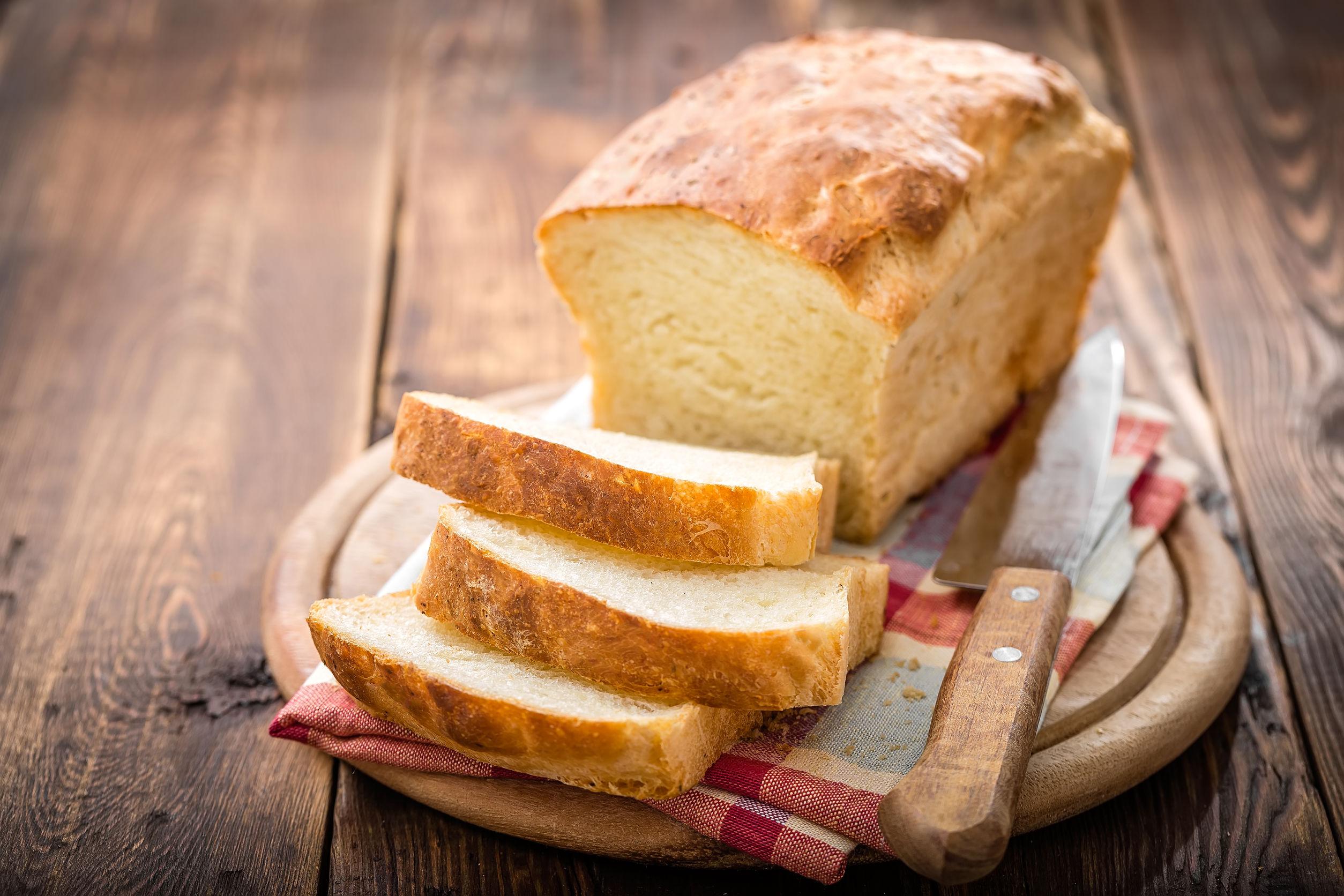 pâine cu praf de copt