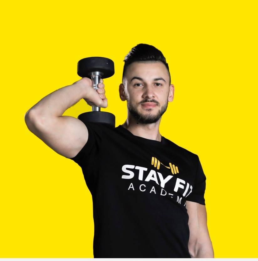 Antonio Nitu - General Manager al retelei Stay Fit Gym