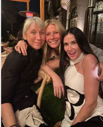 Alexandra Grand, Gwyneth Paltrow si Demi Moore, niciuna machiata