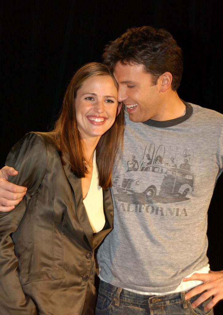 Ben Affleck si Jennifer Garner
