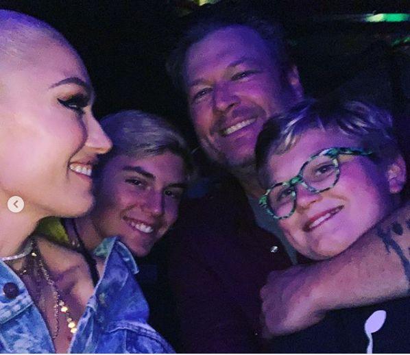Blake este deja un tata bun