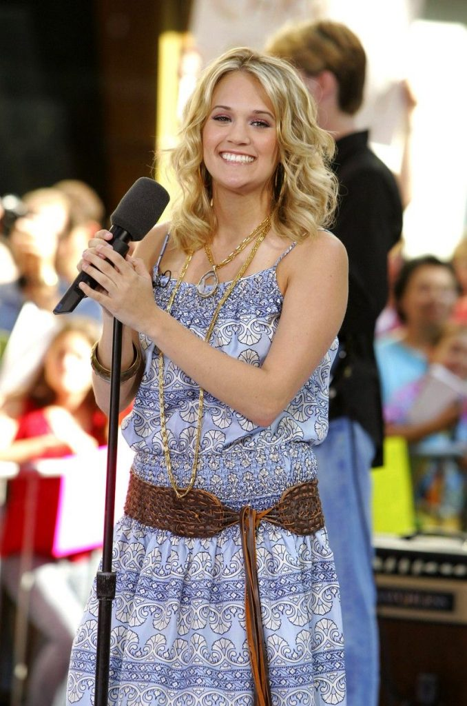 Carrie Underwood, in 2005
