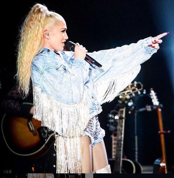 Gwen Stefani, tinuta de inspiratie country