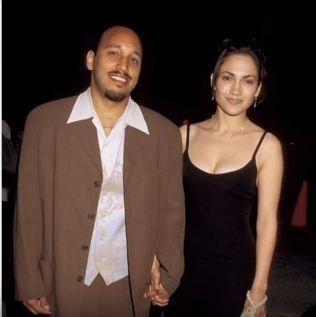 J Lo si David Cruz, cu multi ani in urma