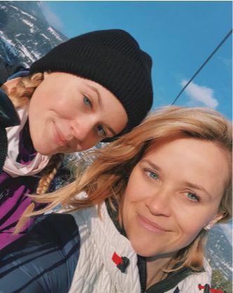 Reese Whiterspoon si fiica ei