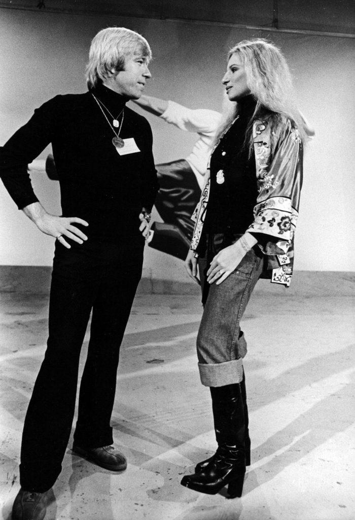 in 1975, alaturi de Barbra Streisand