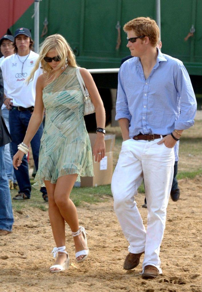 in 2006, in vremea cand forma un cuplu cu printul Harry