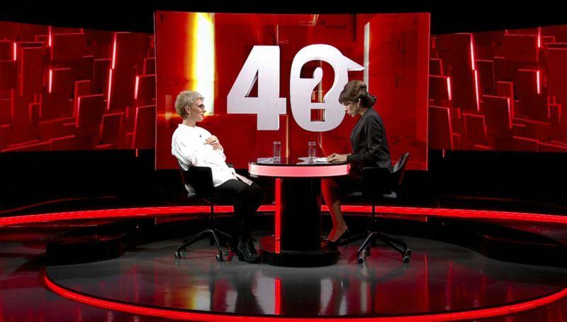 Teo Trandafir la 40 de intrebari cu Denise Rifai